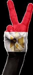 Egyptian Flag Peace