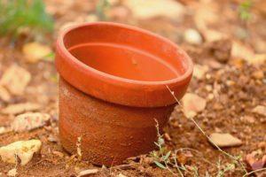 terra cotta pot for execration ritual